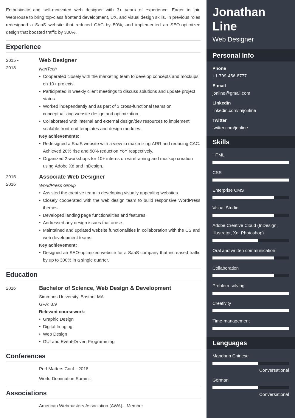 web designer template enfold uk
