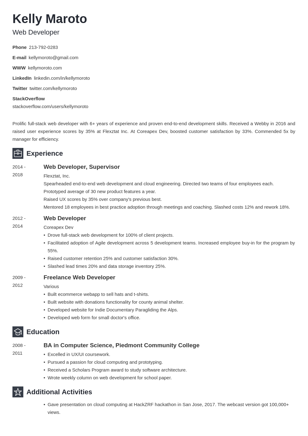 web developer template newcast uk