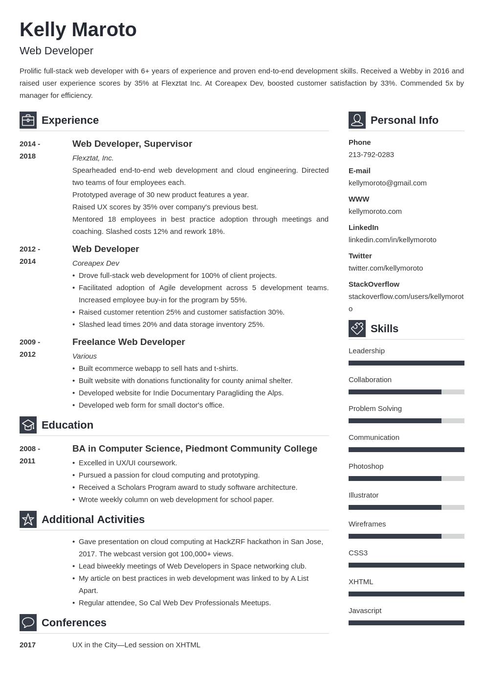 web developer template vibes uk