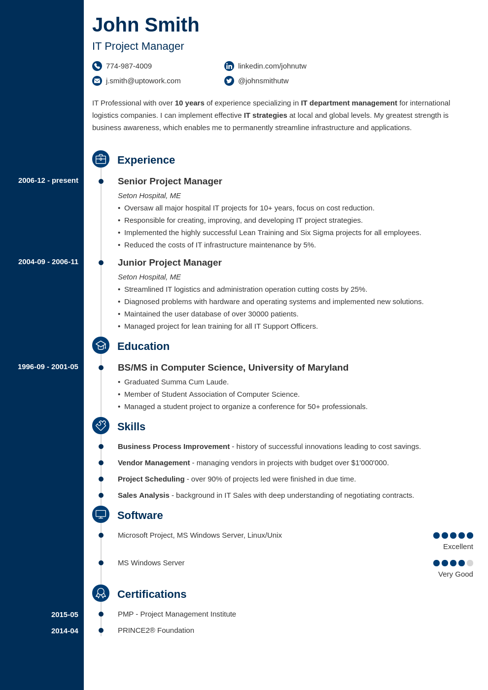 18 Professional CV Templates Optimized for 2019. Download in ...