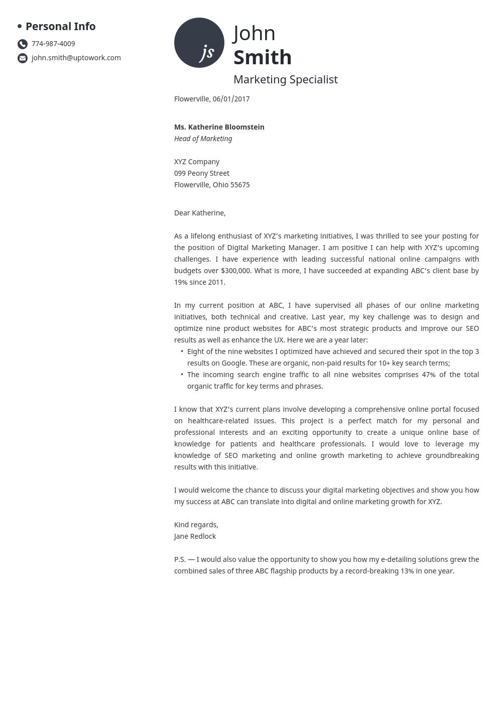 cover letter builder online  get a cover letter in 10