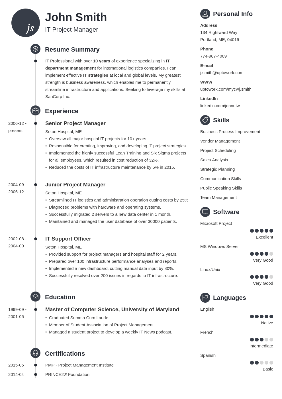 18 professional cv templates optimized for 2019  download