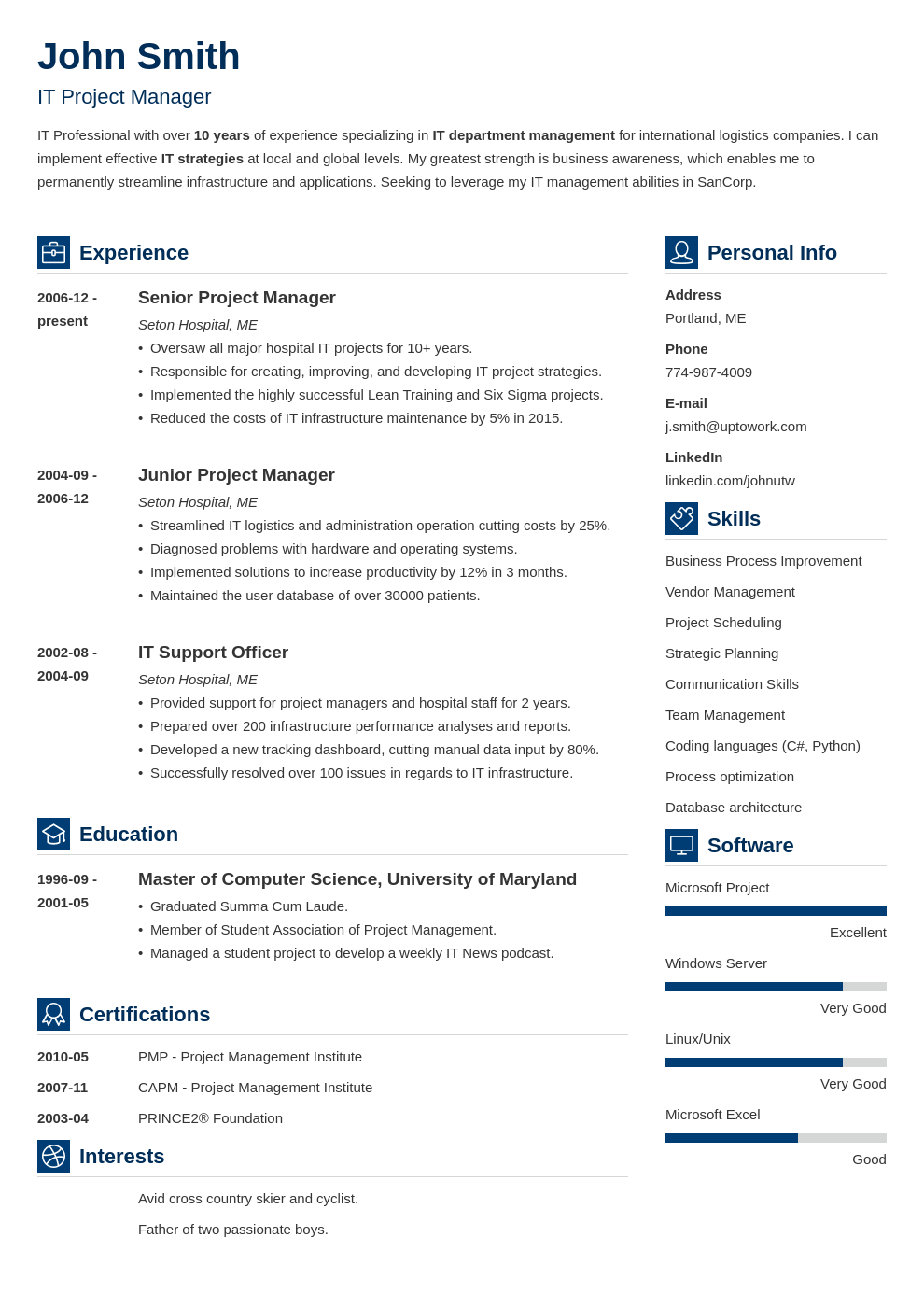 18 Best Resume Templates. Professional & Effective. Instant ...